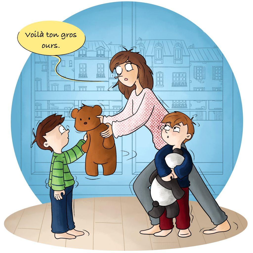 Parents gérer les disputes entre enfant