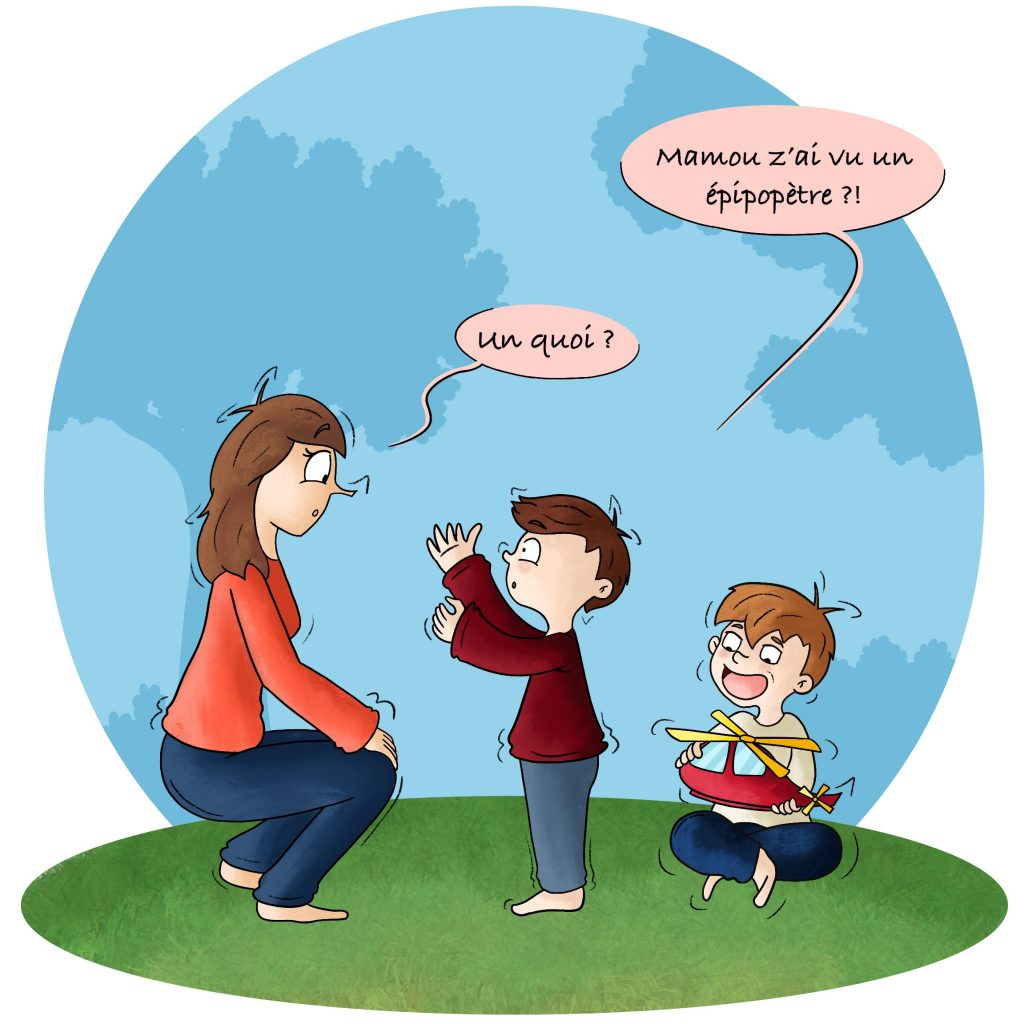 Ne pas comprendre quand son enfant parle