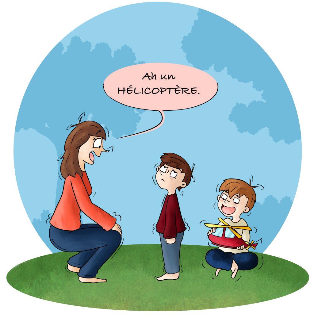 Les enfants désespérés par leurs parents