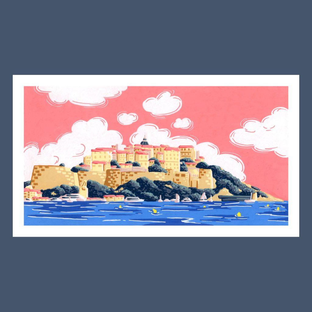 Peinture au posca vente illustration originale