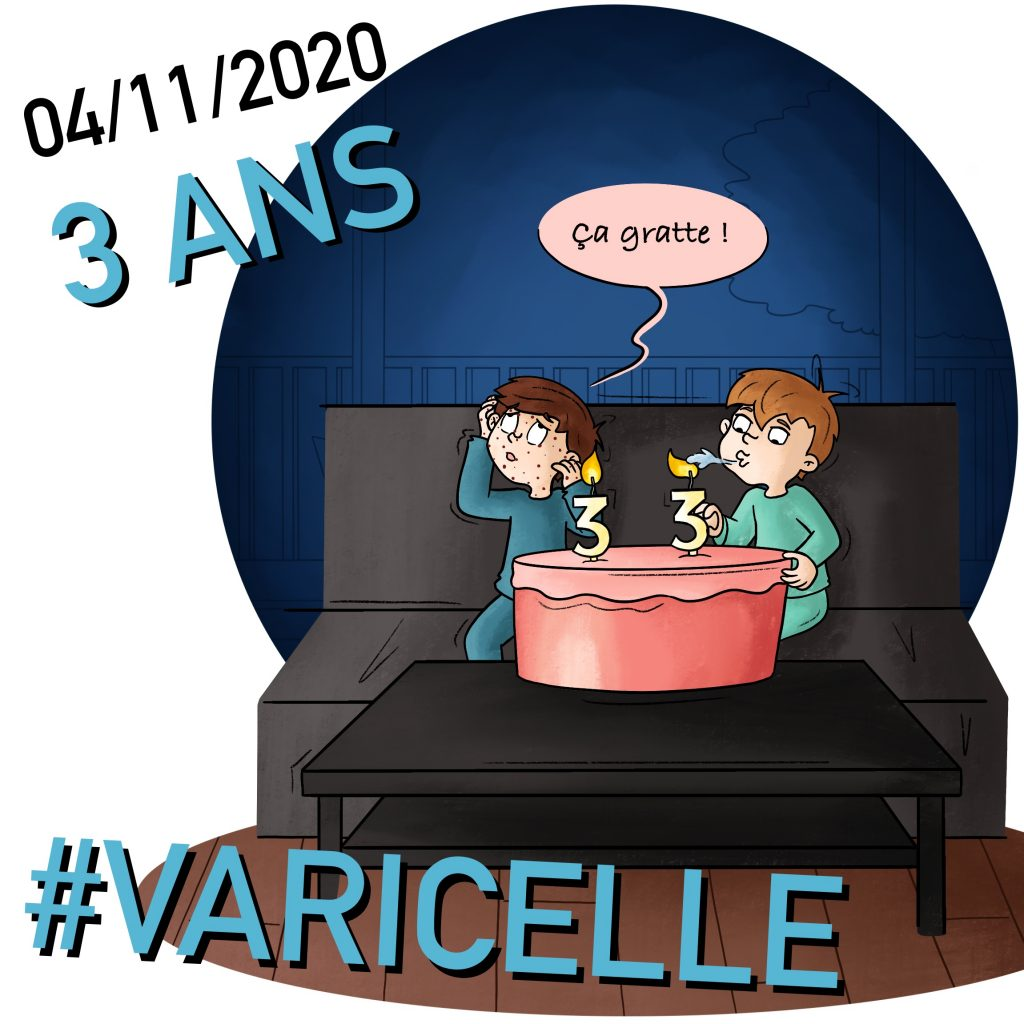 Illustration varicelle