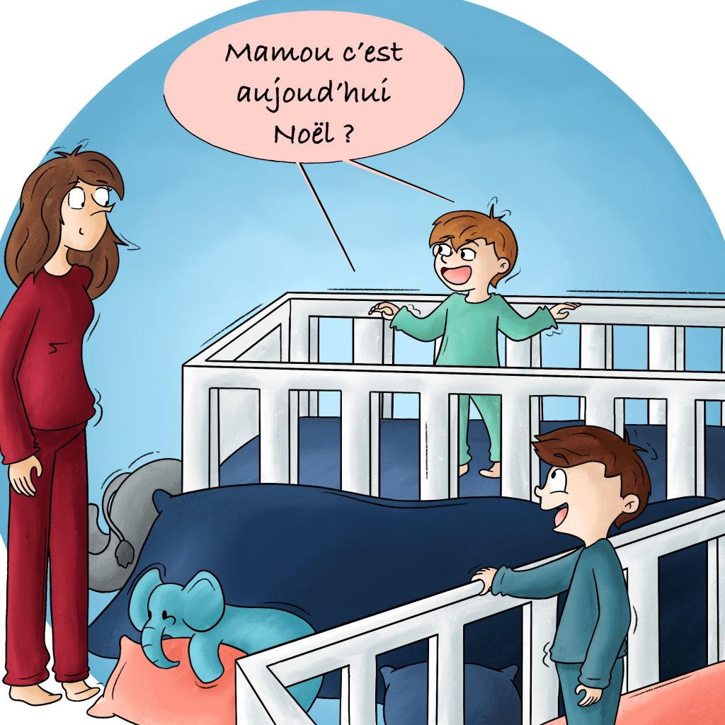 Illustration vie de parents