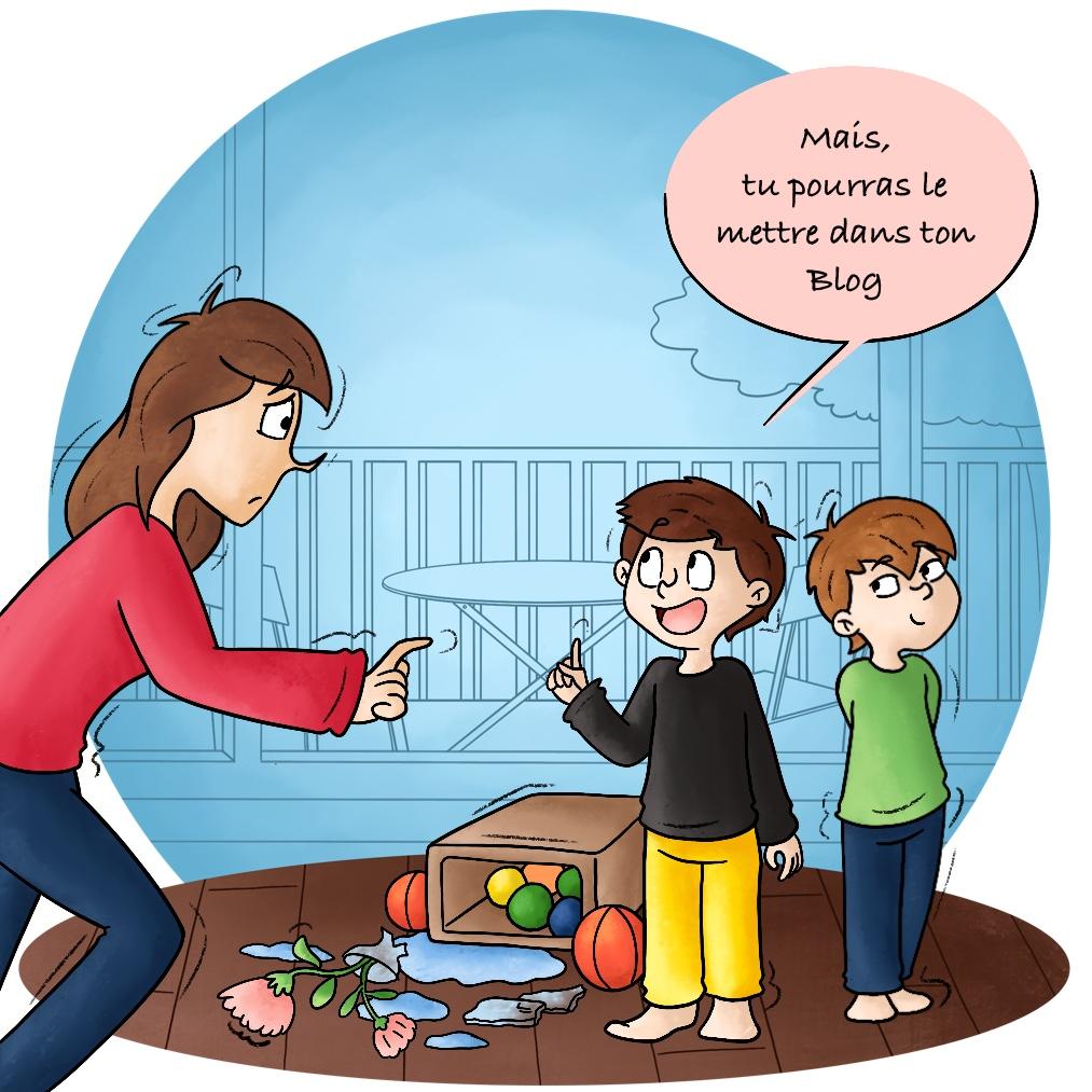 La répartie des enfants