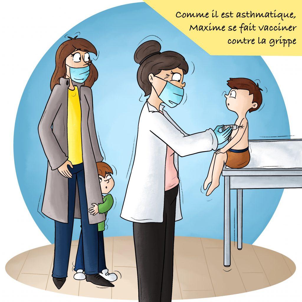 Vacciner son enfant contre la grippe