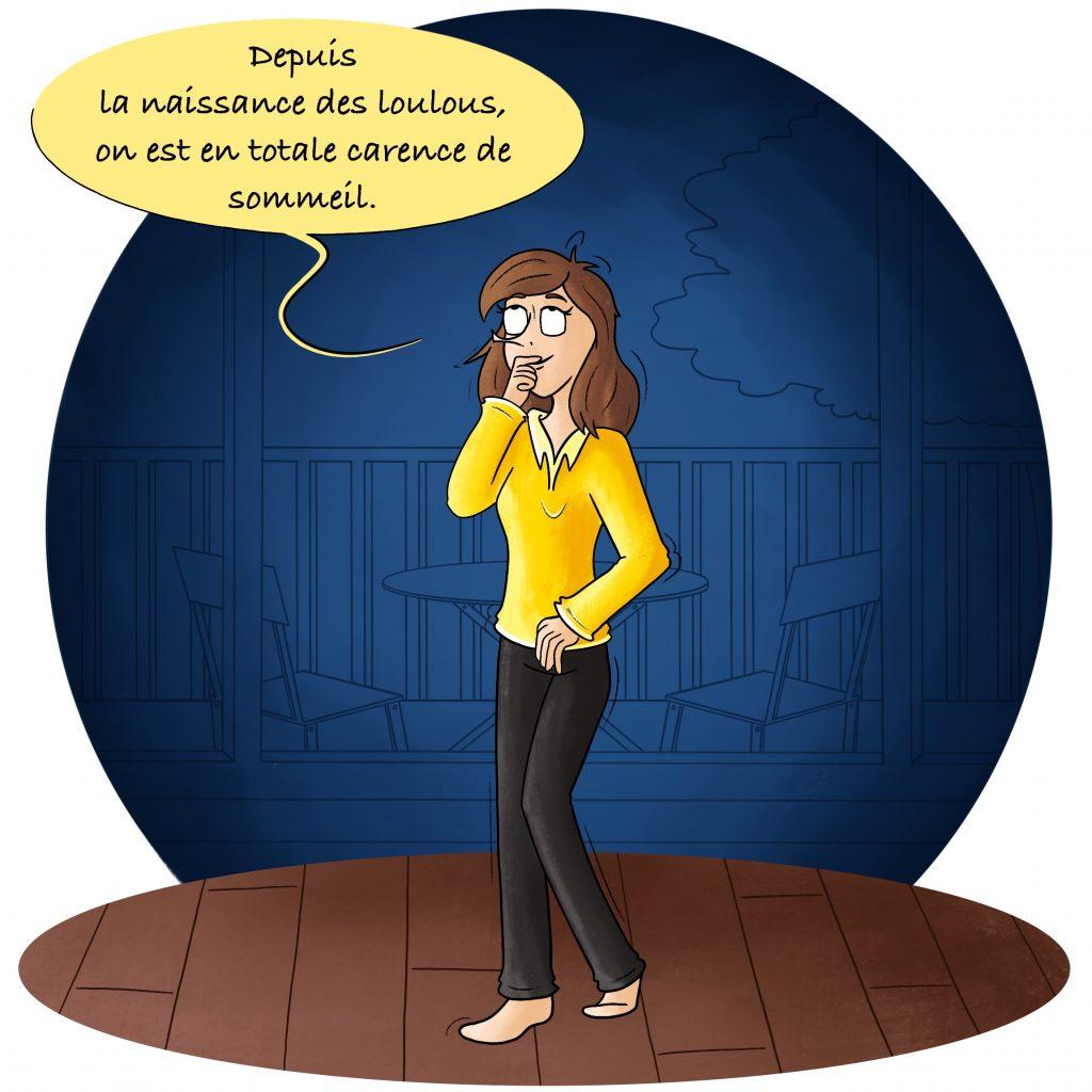Illustration blog de maman