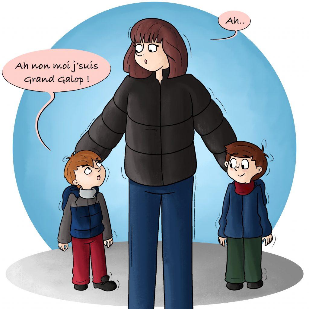 Illustration l'imagination des enfants