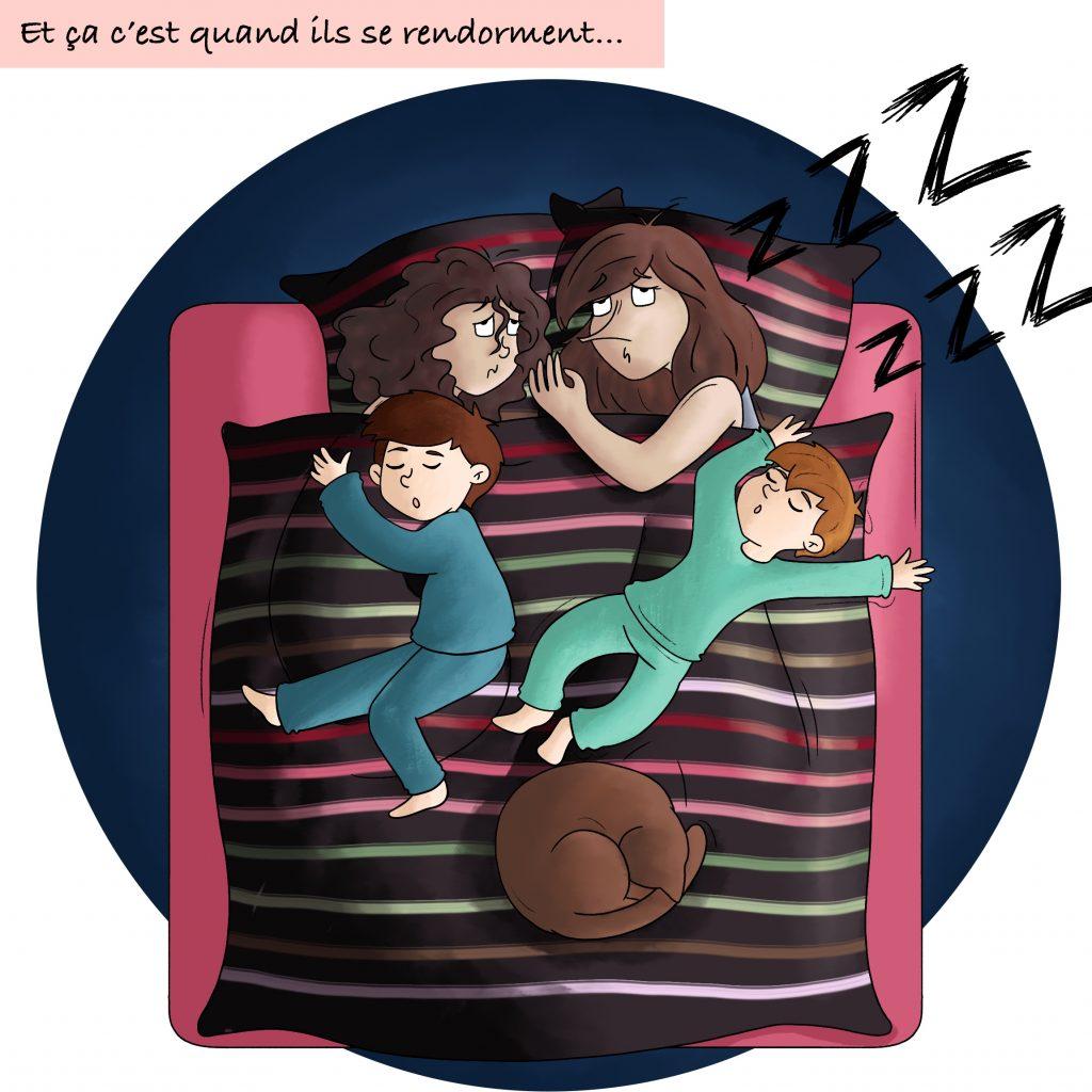 Le rêve des jeunes parents : dormir