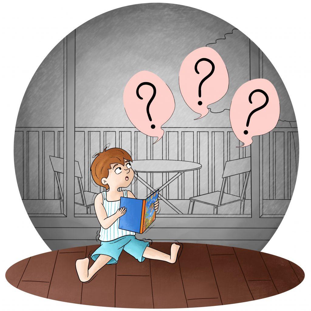 Blog illustration enfant qui réfléchi