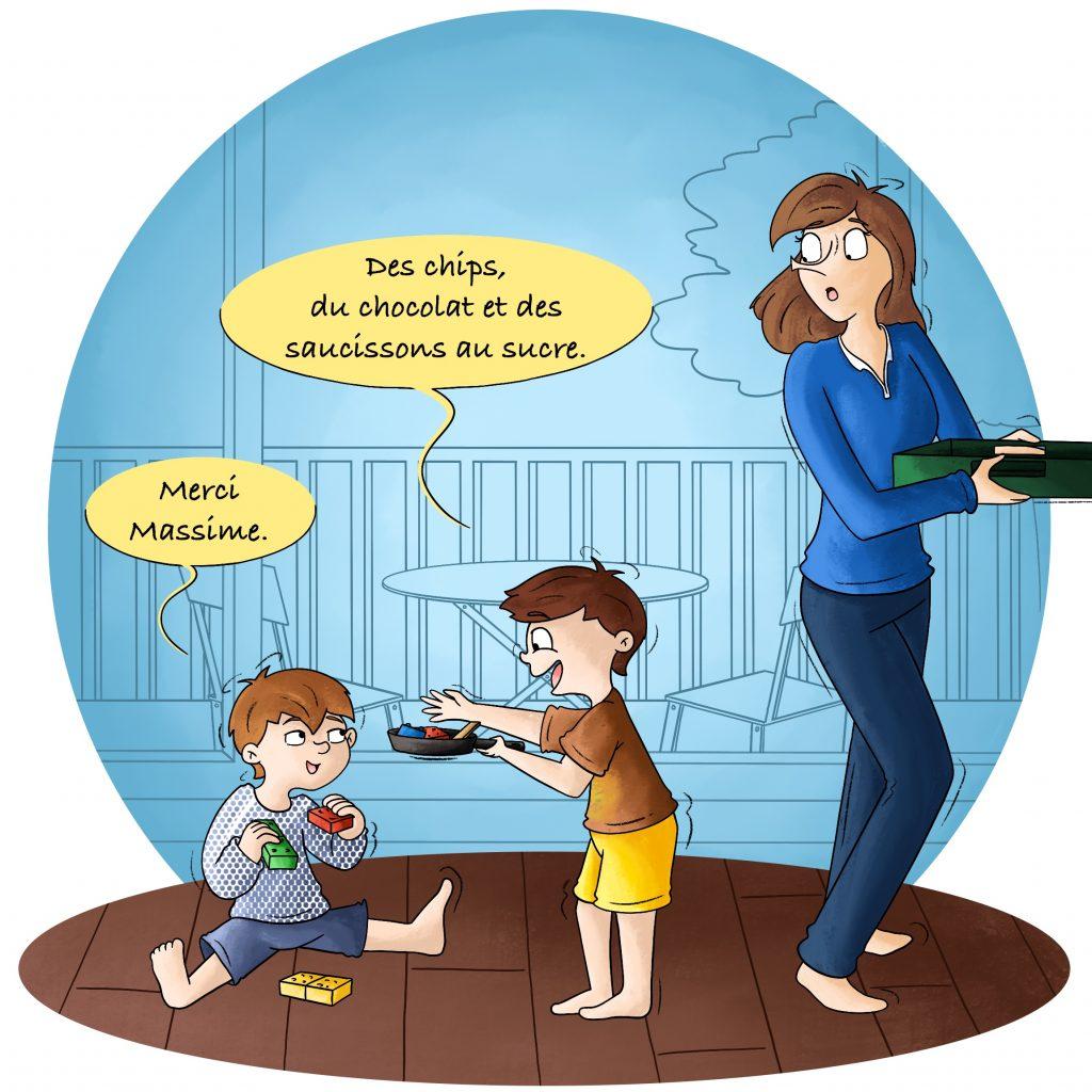 Illustration jeux d'enfant