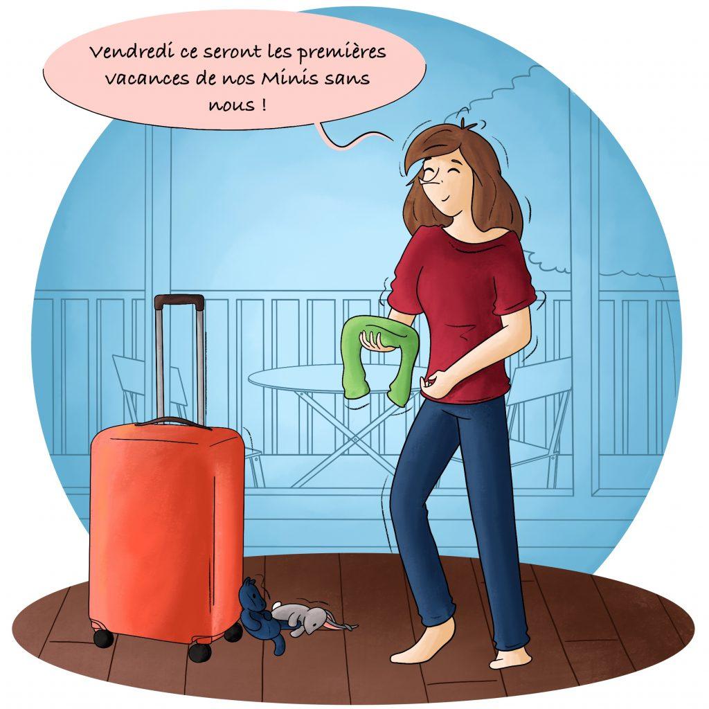Préparer les valises pour les vacances